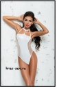БОДИ ME SEDUCE BOND ME ODETTE BODY, WETLOOK, БЕЛОЕ, L/XL