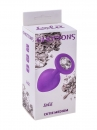 АНАЛЬНАЯ ПРОБКА EMOTIONS CUTIE MEDIUM PURPLE CLEAR CRYSTAL