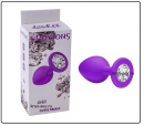 АНАЛЬНАЯ ПРОБКА EMOTIONS CUTIE SMALL PURPLE CLEAR CRYSTAL