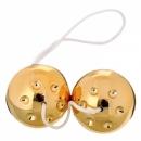 Шарики золотые (3.2см)