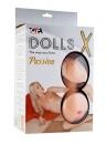 Кукла с вагиной и анусом из кибер кожи