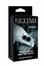 Вагинальные шарики Medium Black Glass Ben-Wa Balls из стекла пеп