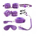 БДСМ набор фиолетовый (7 предметов)