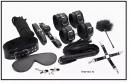 БДСМ набор черный (10 предметов)