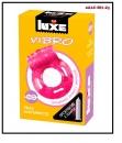 Luxe VIBRO Виброкольцо + презерватив Ужас альпиниста 1шт.